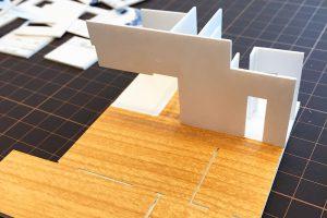 ファミリーボックス・ユートピア設計のブログ-模型作り-