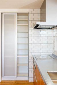 パントリー、キッチン収納のアイデア