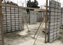 躯体の外周・建物内部のブロック積状況になります。