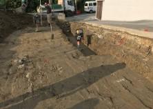 土工事開始しました! ここから工事スタートです。
