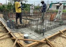 ~基礎打設~ コンクリート流し込み お家の基礎が出来てきます^^♪