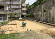 土工事完了しました‼ これより型枠・配筋・配管を行い、基礎コンクリート打設に進みます