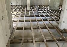内部大工工事 開始いたしました! これから徐々に内部が仕上がっていきます。