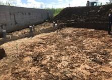 基礎の床掘作業が始まりました。 これから、土工事→鉄筋→型枠→設備→検査→打設の工程で進めていきます。 暑い季節ですので、熱中症に気をつけて作業えを進めていきます。