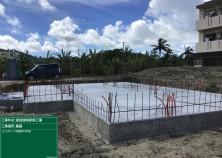 基礎の型枠解体が完了しました! これから基礎周囲の埋戻し・整地を行い、建物の壁→屋根の工事へと移っていきます!
