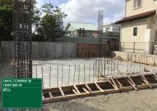 1階床コンクリート打設が完了しました! 当物件はCB造の2階建てになります(^^)/