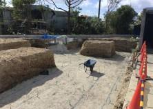 基礎の床掘り中になります。 次は基礎型枠の作業です!