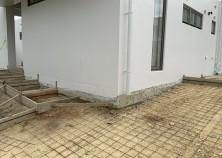 外構 駐車場コンクリート打設前状況です! いよいよ完成間地かとなります。