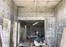 内部大工の工事開始しました。