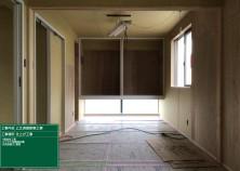 造作工事も大詰め! 各部屋が徐々に仕上がってきました! 奥にある大きな収納下部には、窓からの光が差し込んでとても明るいです(^^)/