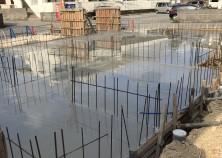 基礎コンクリート 散水養生