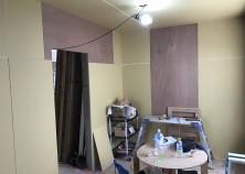津嘉山邸 内部大工工事完了
