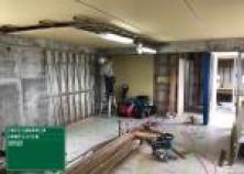 内部大工工事も順調に進んできました! 天井貼りを終え、壁・間仕切りへ進んでいきます(^^)/