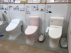 TOTOのトイレコーナー