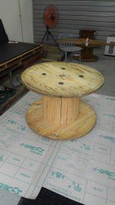 ファミリーボックス・ユートピア設計のブログ-木製ドラムでDIY-