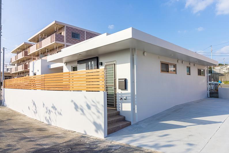66坪の角地に建つ30坪台の子育てハウス